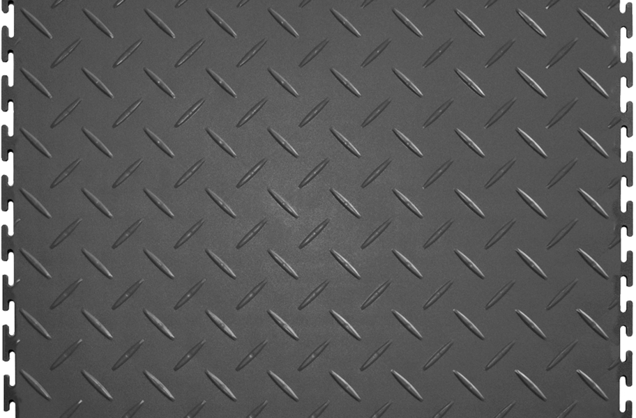 Diamond Flex Tiles - Light Gray