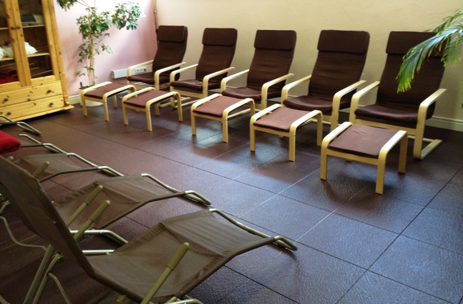Slate Flex Tiles - Black