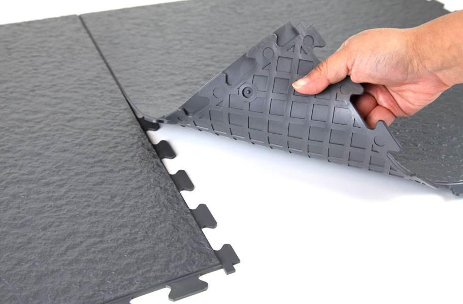 Slate Flex Tiles - Dark Gray