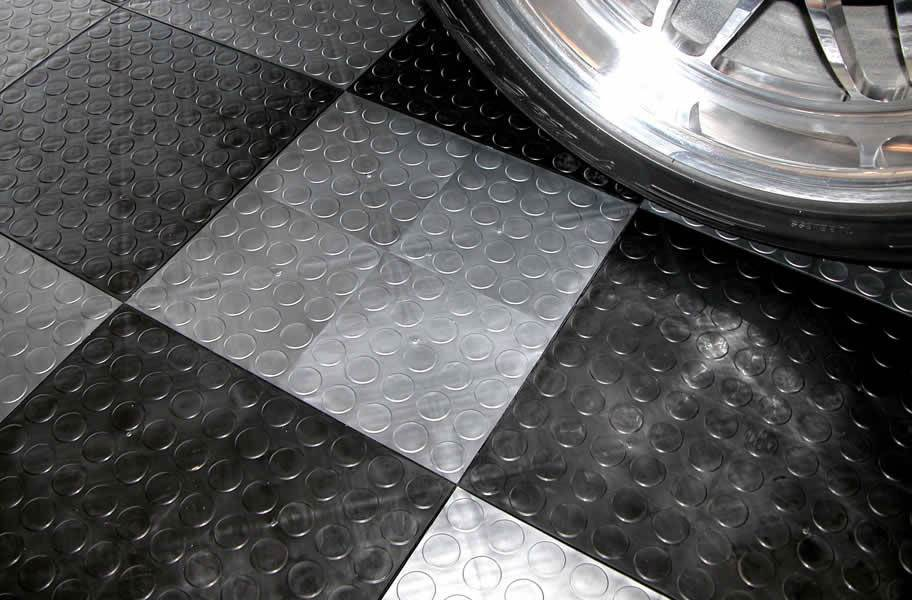 Coin Grid-Loc Tiles™ - Arctic White