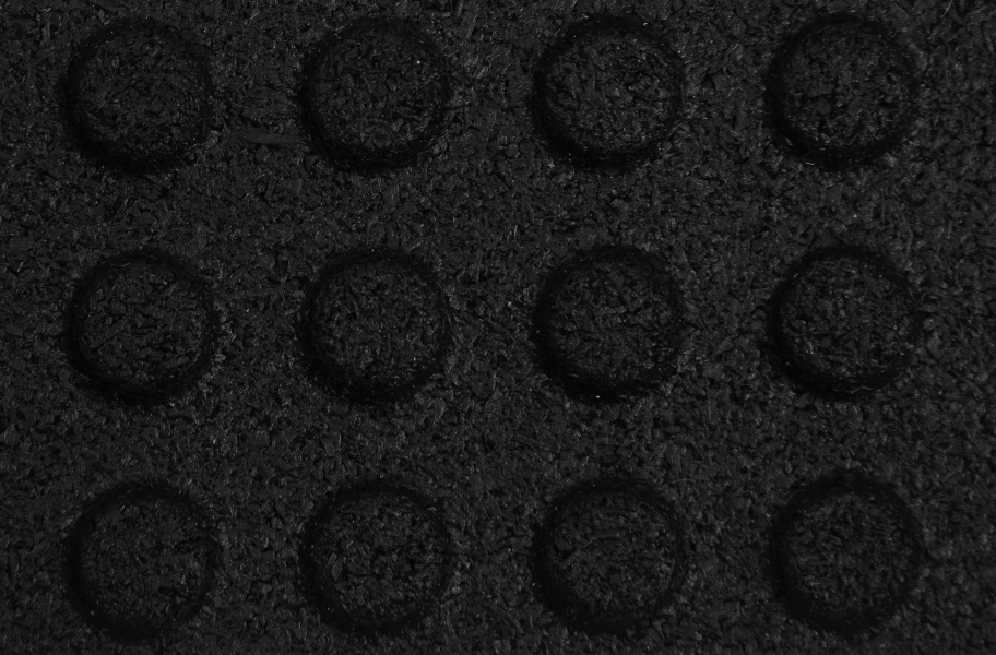 "1/2"" Button Top Stall Mat Kits - Black"