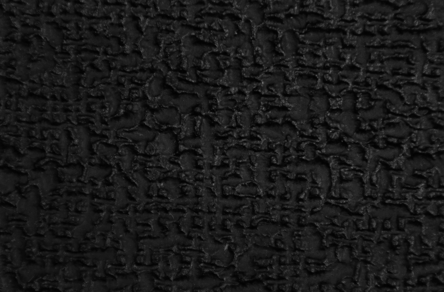"1/4"" Terra Lock Virgin Rubber Tiles - Midnight Black"