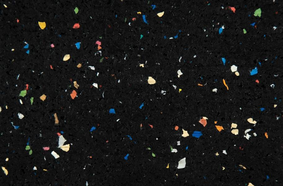 6mm Energy Rubber Tiles - Confetti