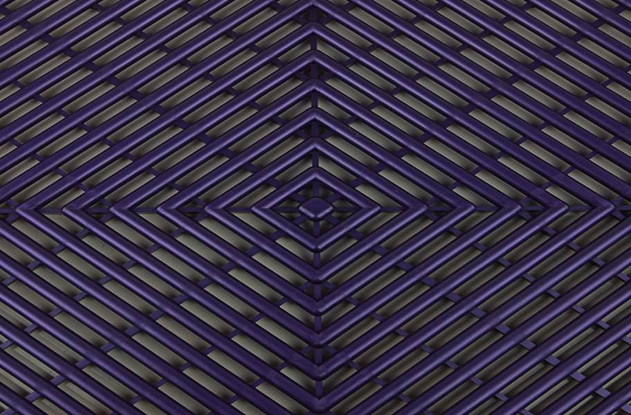Vented Grid-Loc Tiles™ - Imperial Purple