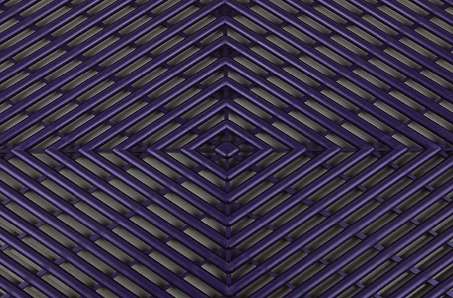 Vented Grid-Loc Tiles™ - Imperial Purple