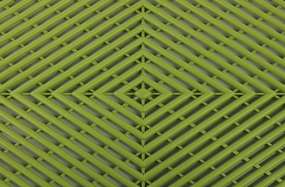 Vented Grid-Loc Tiles™ - Olive Green
