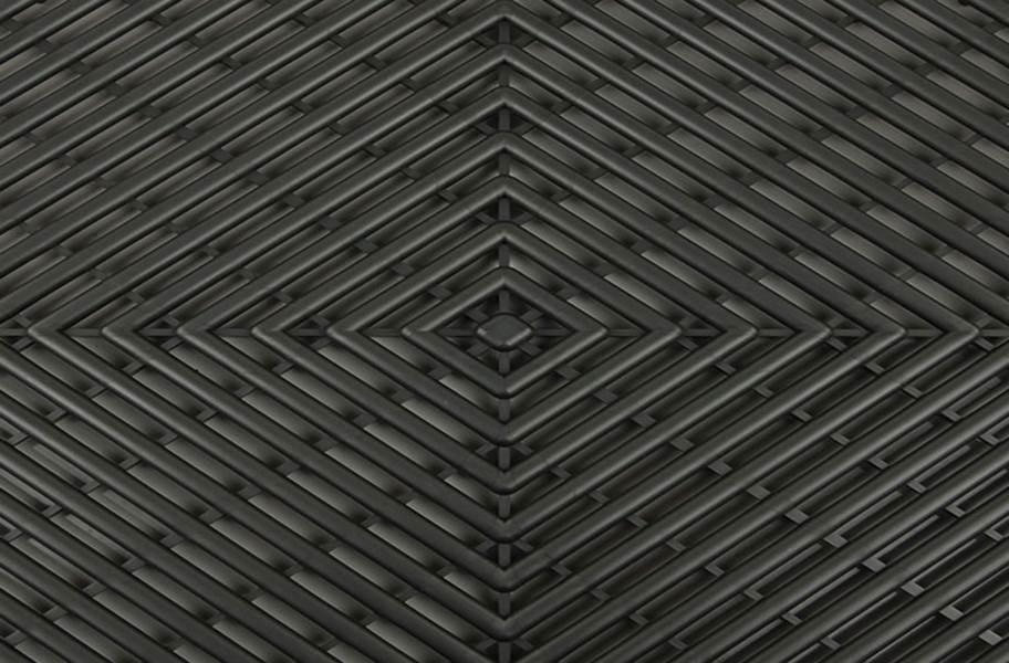 Vented Grid-Loc Tiles™ - Graphite