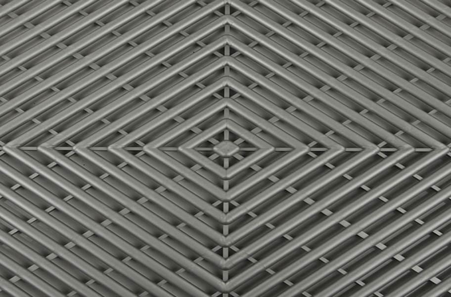 Vented Grid-Loc Tiles™ - Gunmetal