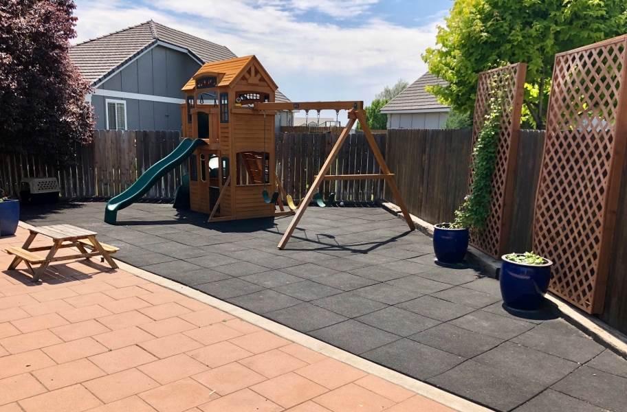 Jamboree Playground Tiles™ - Red