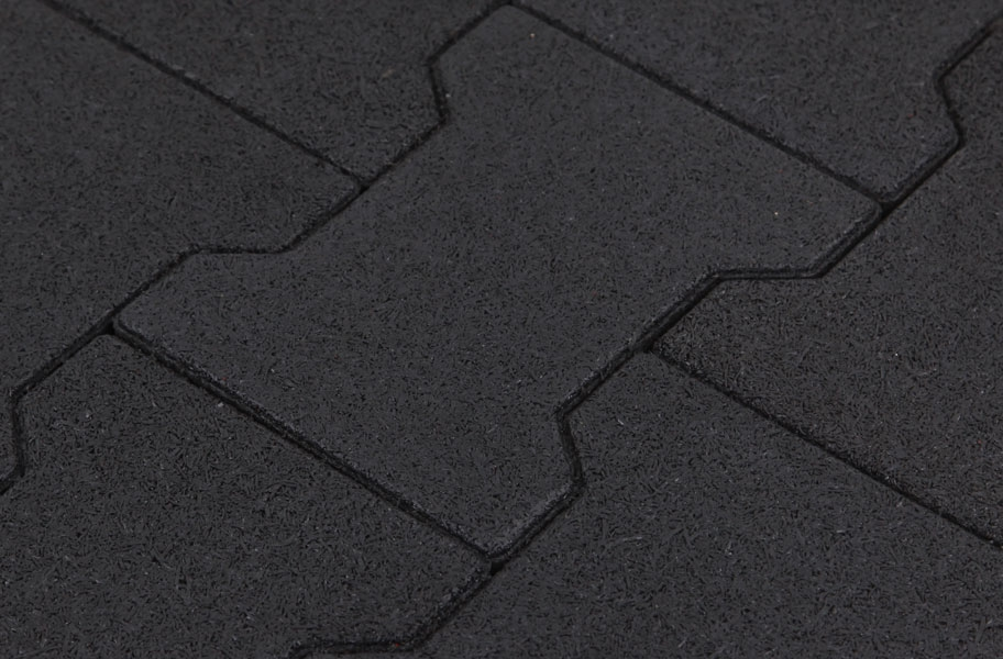 Rubber Pavers - Black