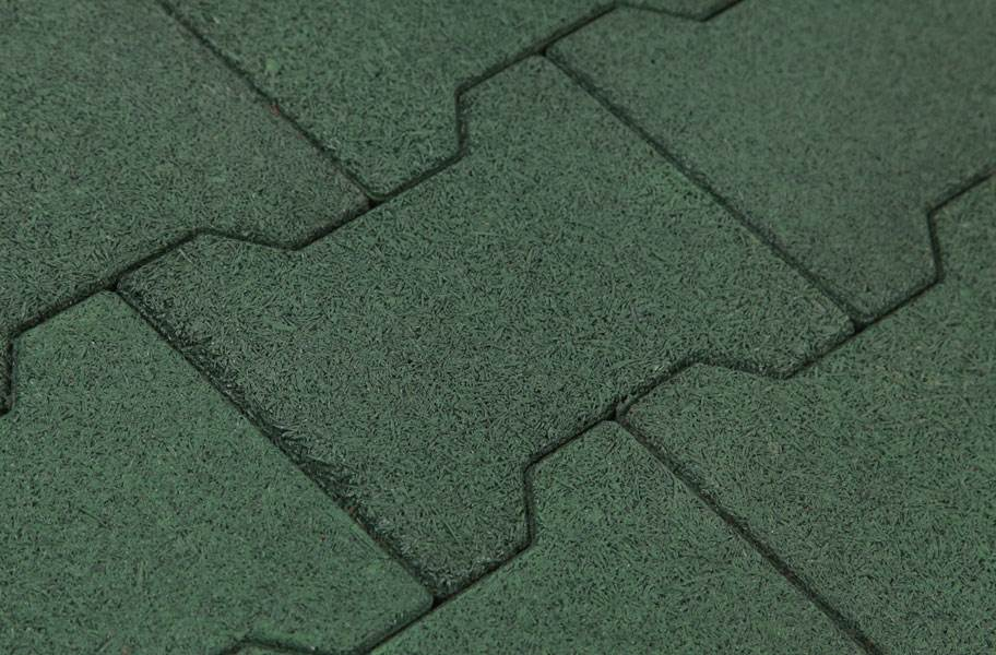 Rubber Pavers - Green
