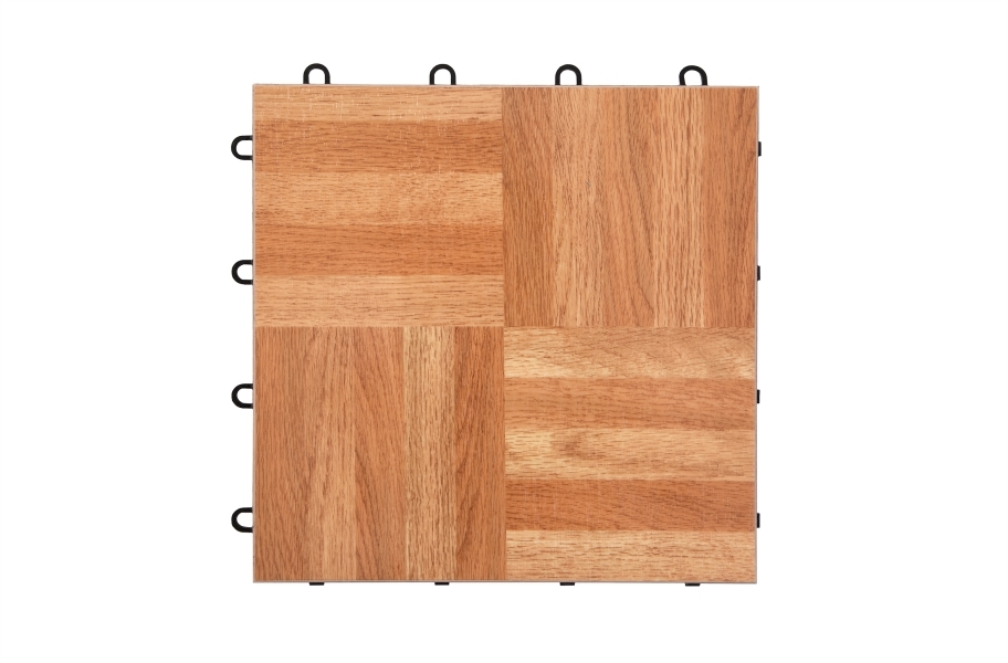 Modular Grid-Loc Tiles™ - Oak
