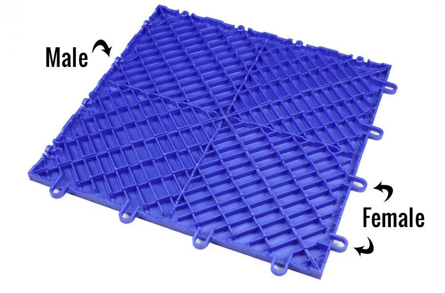 Diamond Grid-Loc Tiles™