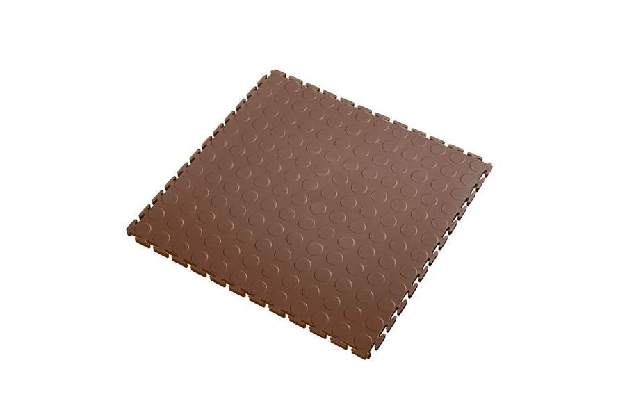 7mm Coin Flex Tiles - Brown