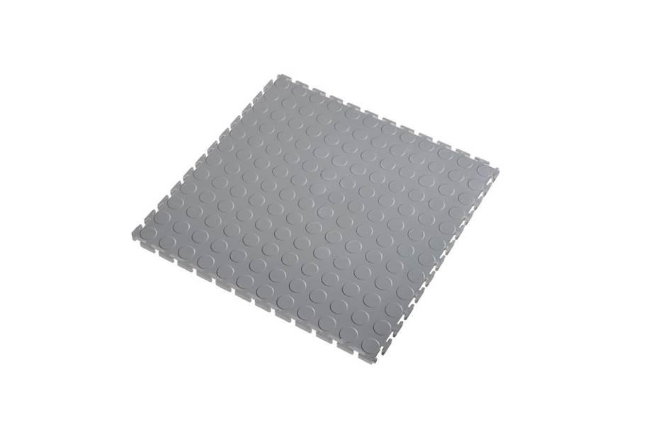 7mm Coin Flex Tiles - Light Grey