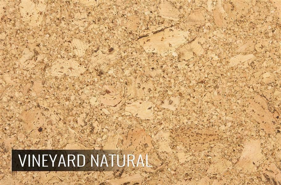 Eco-Cork Vineyard Natural Cork Tiles