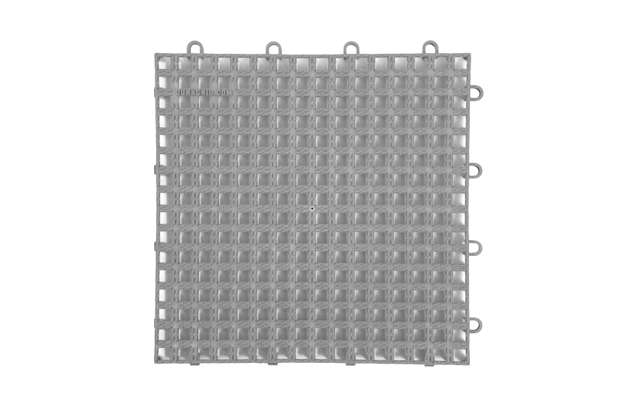 Raised Grip-Loc Tiles - Grey