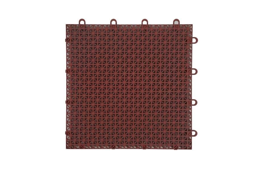 Designer Grip-Loc Tiles - Brick Red