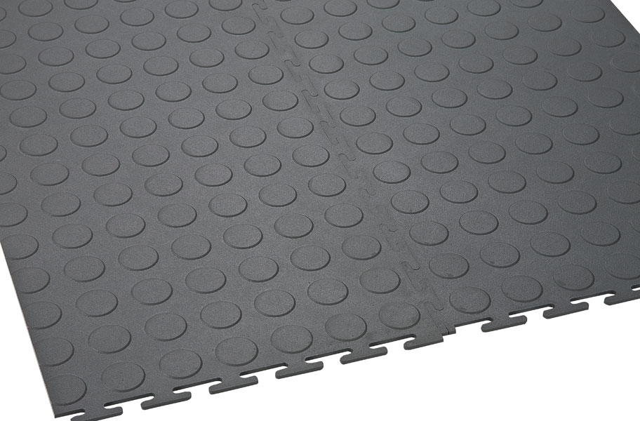 6.5mm Coin Flex Tiles - White