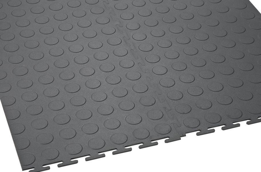 6.5mm Coin Flex Tiles - White