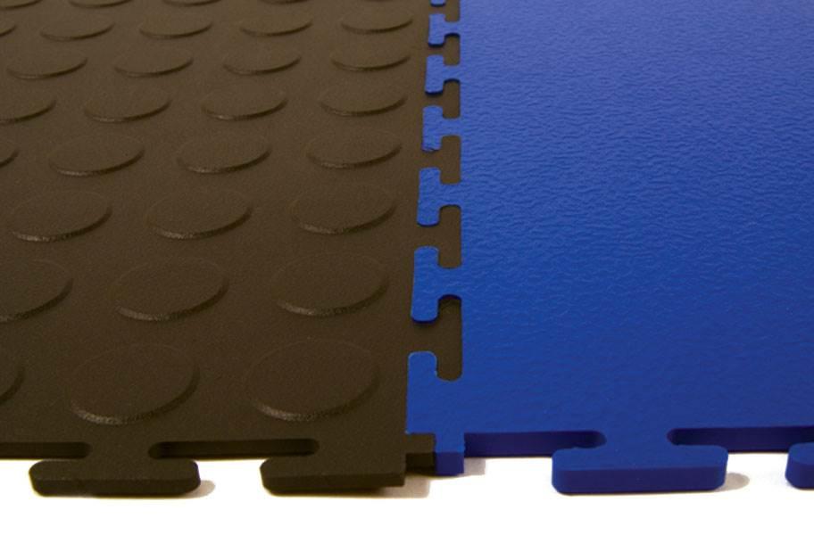 6.5mm Coin Flex Tiles - Light Grey