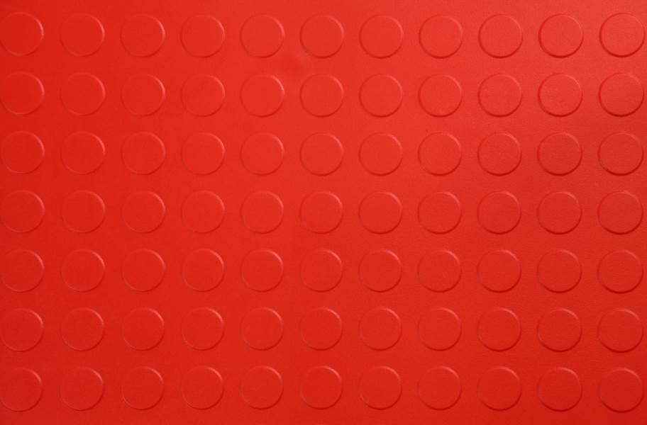 6.5mm Coin Flex Tiles - Red