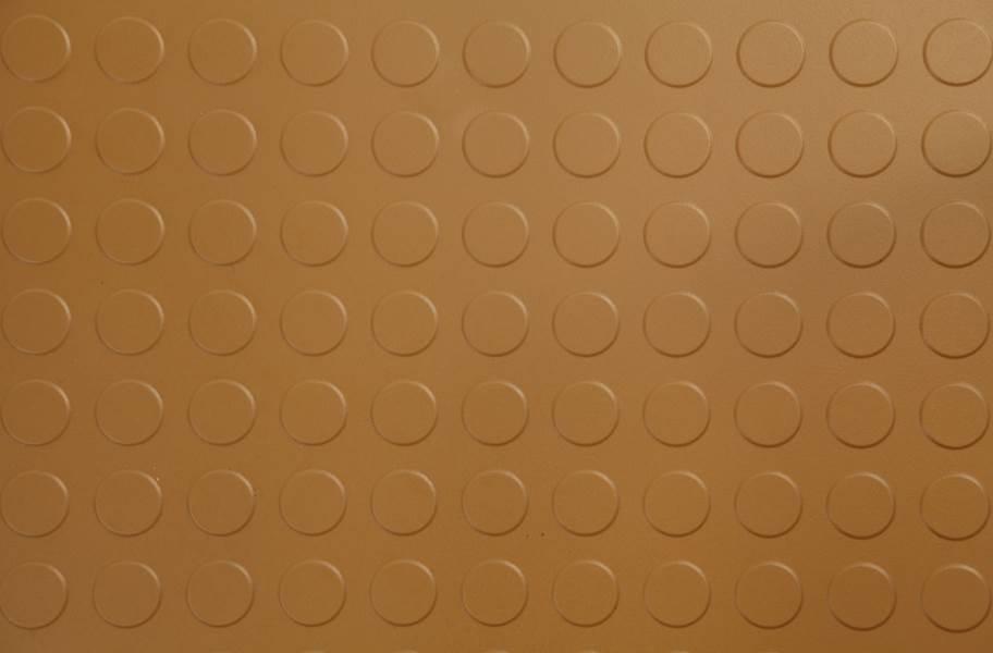 6.5mm Coin Flex Tiles - Tan