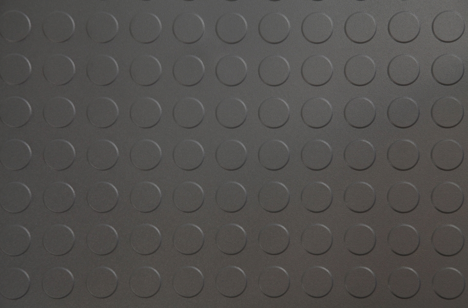 6.5mm Coin Flex Tiles - Dark Grey