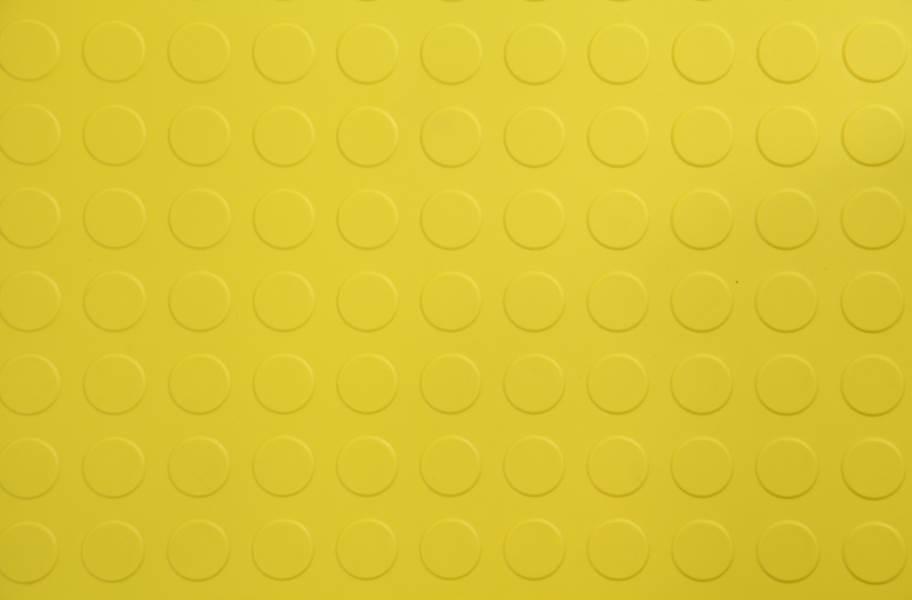 6.5mm Coin Flex Tiles - Yellow