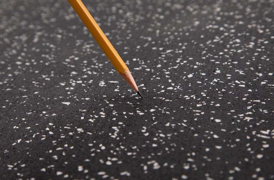 "3/4"" Impact Rubber Tiles - Back"