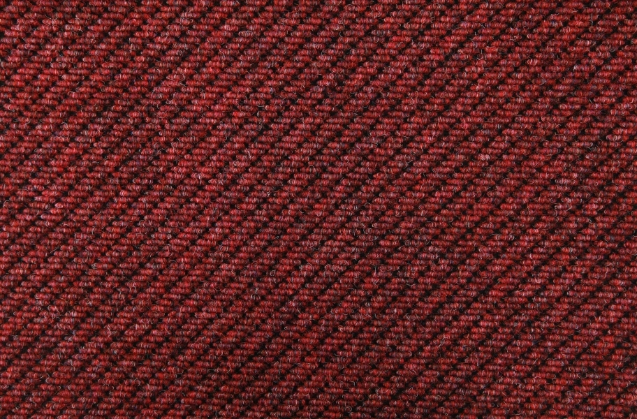 Triton Carpet Tile - Cranberry