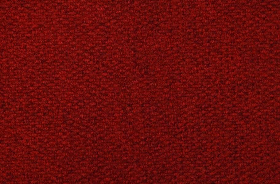 Crete II Carpet Tile - Cardinal Red