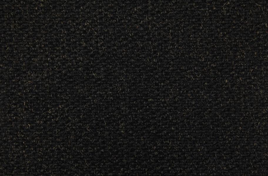 Crete II Carpet Tile - Black Shadow