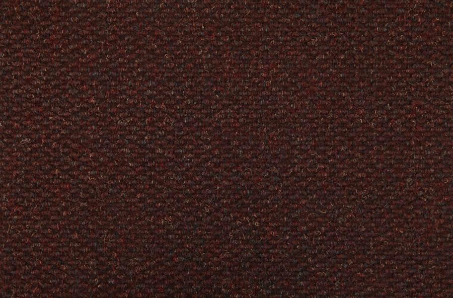 Crete II Carpet Tile - Bordeaux