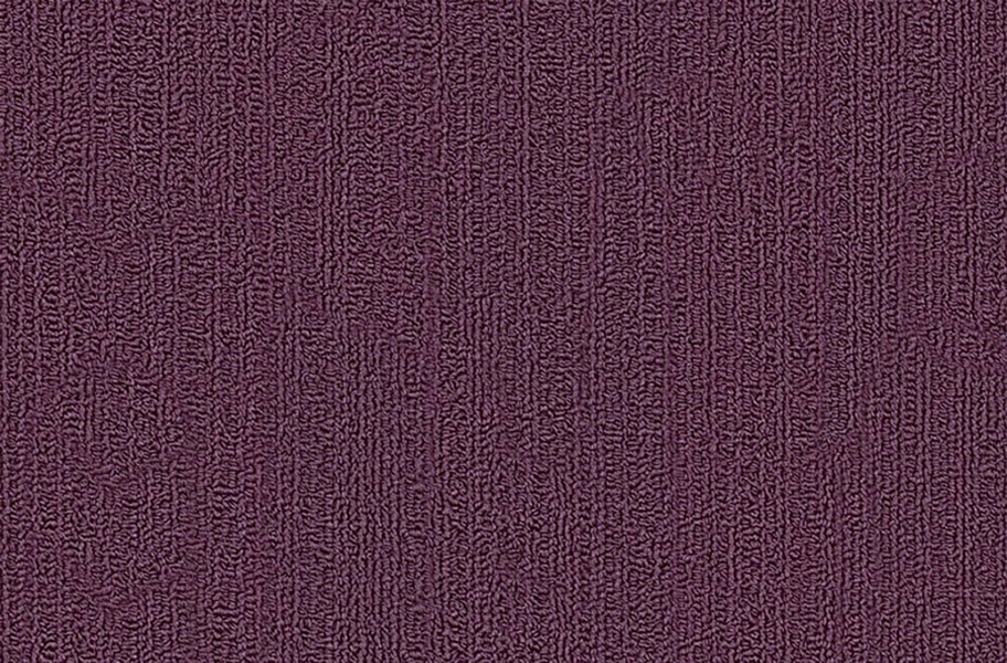 Shaw Color Accents Carpet Tile - Purple Heart