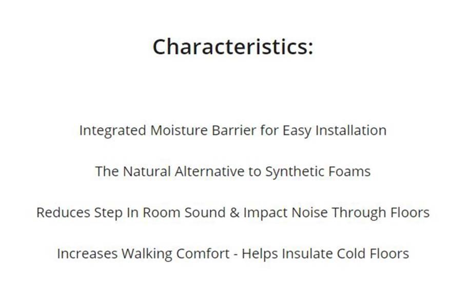 AcoustiCORK Quiet Comfort Plus Vapor Barrier