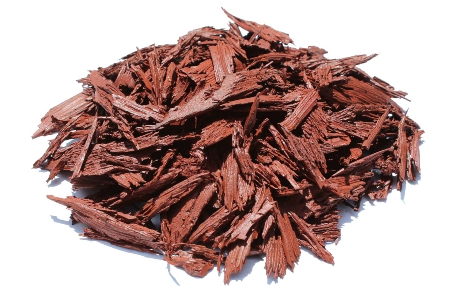 Premium Rubber Mulch - Red