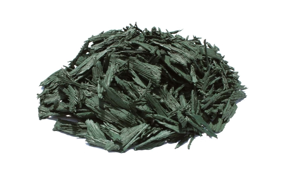 Premium Rubber Mulch - Green