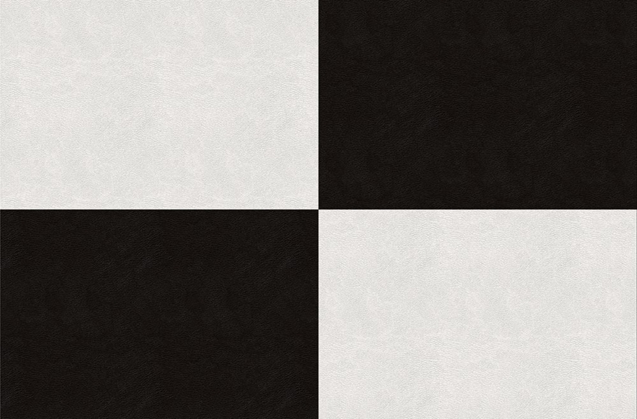 Smooth Flex Tiles - Black & White