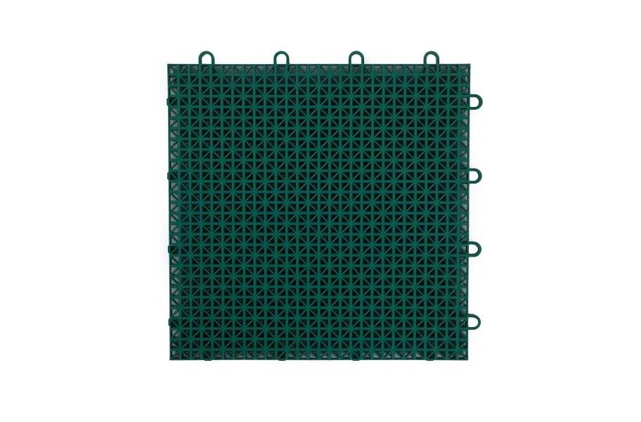 Rugged Grip-Loc Tiles - Brick Red