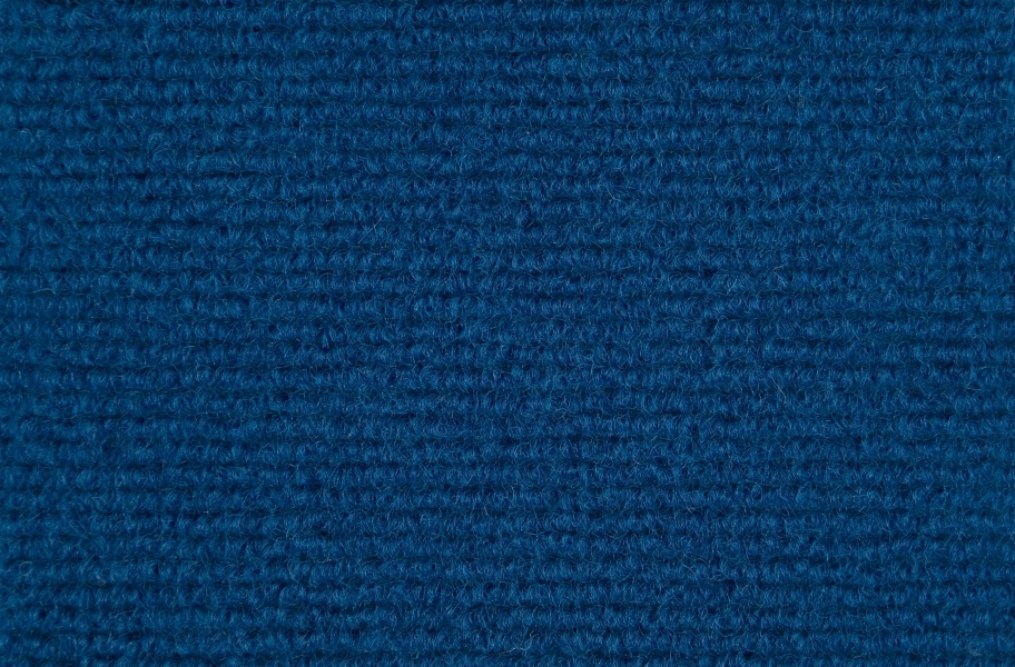 Ribbed Carpet Tile - Quick Ship - Royal Blue