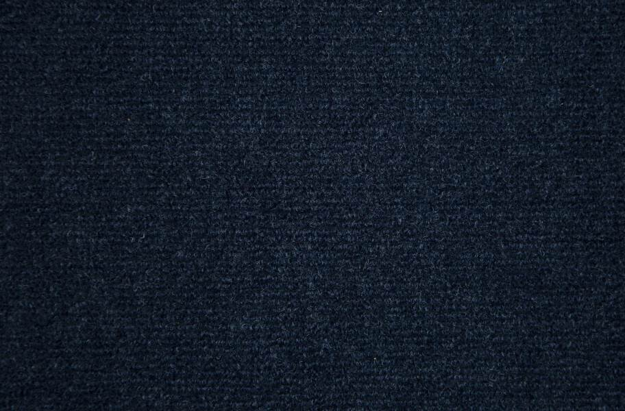 Ribbed Carpet Tile - Quick Ship - Navy Blue