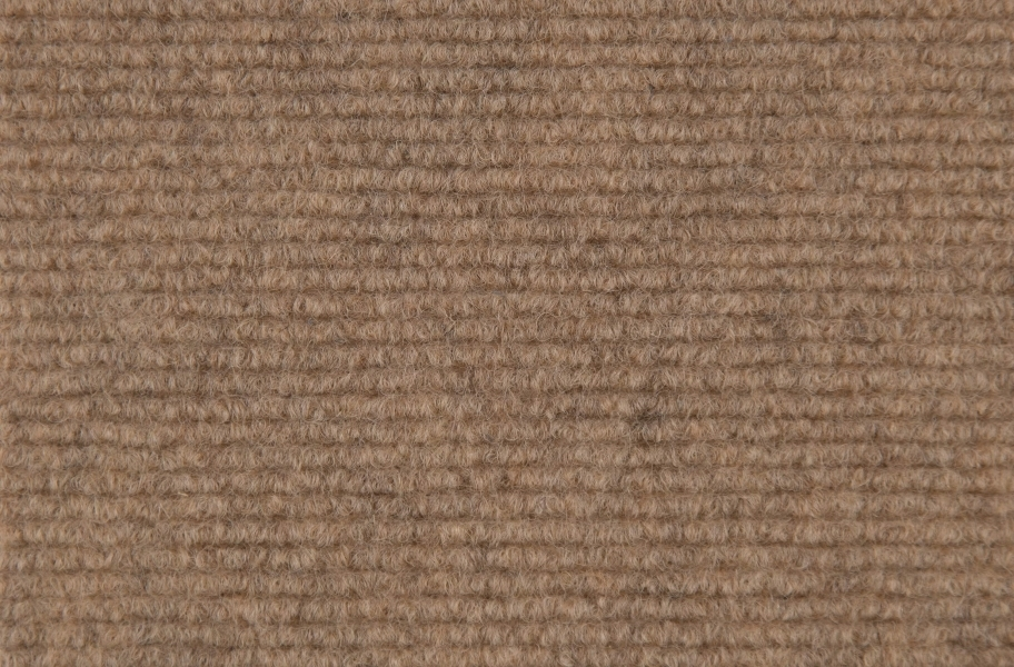 Ribbed Carpet Tile - Quick Ship - Stone Beige