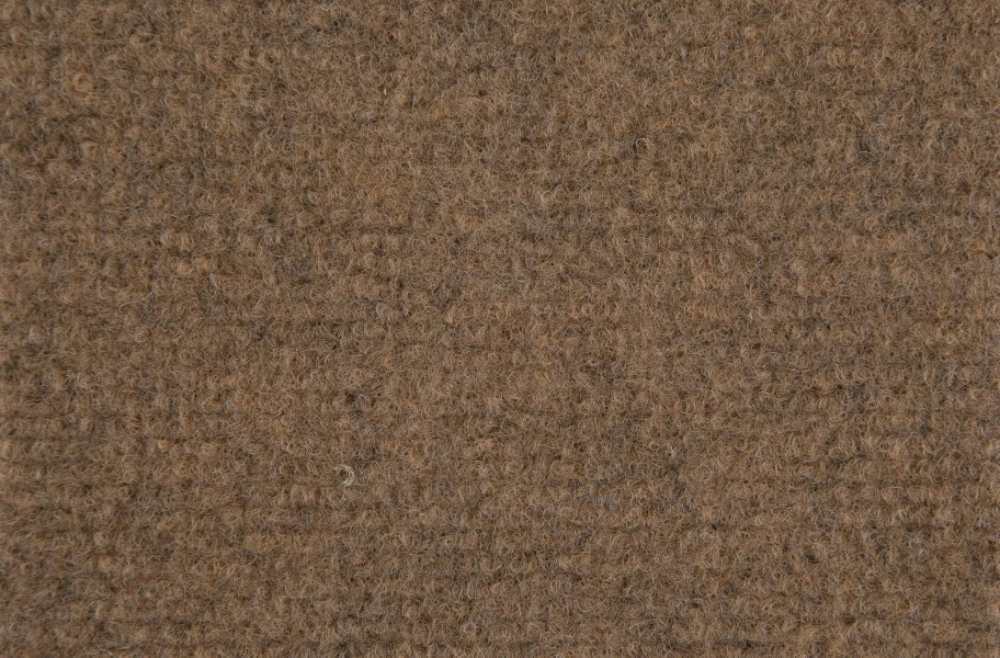 Ribbed Carpet Tile - Quick Ship - Light Brown