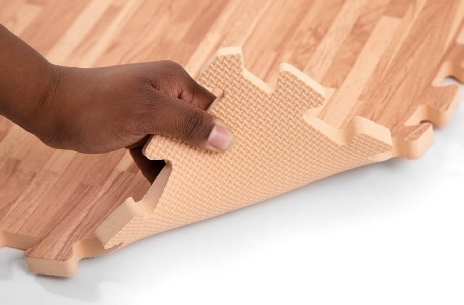 "5/8"" Premium Soft Wood Tiles - Back"