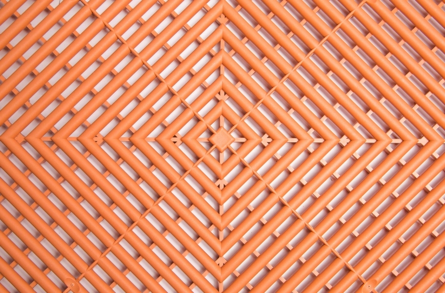 Ribtrax Tiles - Terra Cotta