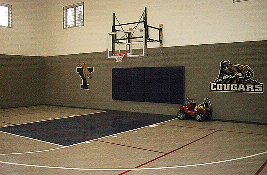 Indoor Sports Tiles Low Cost High Quality Gym Tiles Basketball Court Indoor Basketball Court B