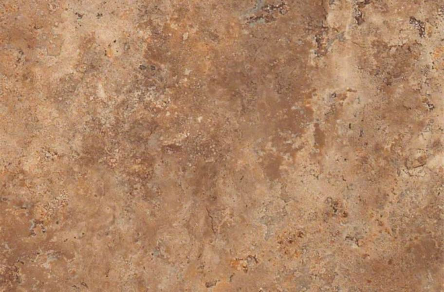 Shaw Resort Groutable Vinyl Tiles - Baked Clay