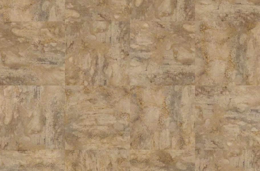 Shaw Resort Groutable Vinyl Tiles - Caramel