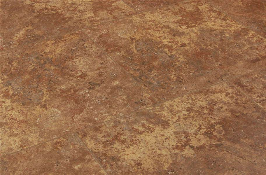 Shaw Resort Groutable Vinyl Tiles - Caramel